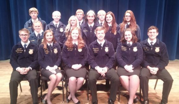 Schuyler R-1 FFA Chapter Attends Greenhand Motivational Conference