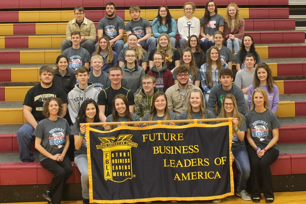 Schuyler R-1 FBLA Members Participate in National FBLA Week