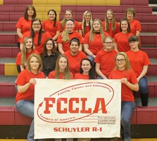 Schuyler R-1 FCCLA Members Participate in National FCCLA Week