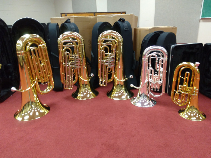 New instruments ready to be used