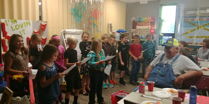 Mrs. Veatch's class performed