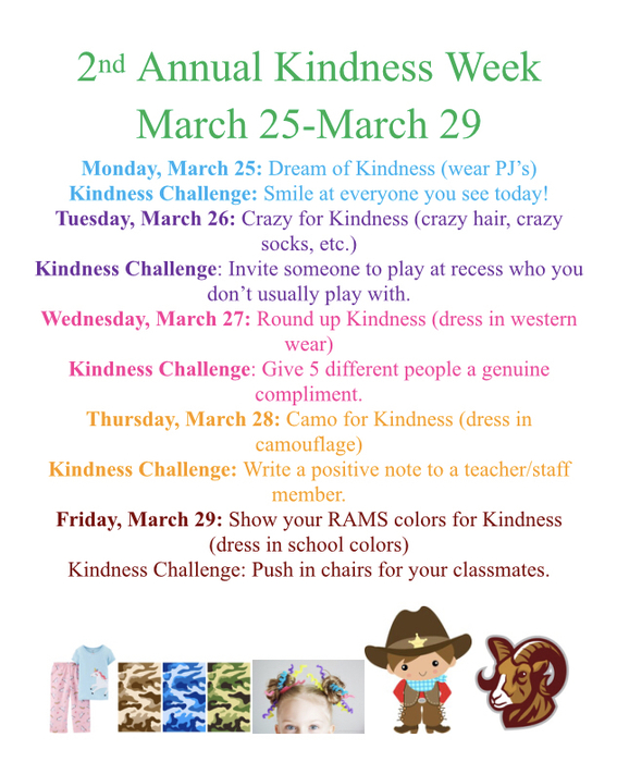 Dress up days and challenges